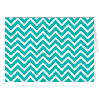 white mint white zig zag pattern design card