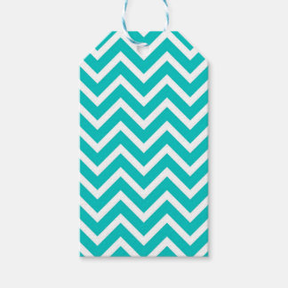 white mint white zig zag pattern design gift tags