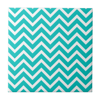 white mint white zig zag pattern design tile