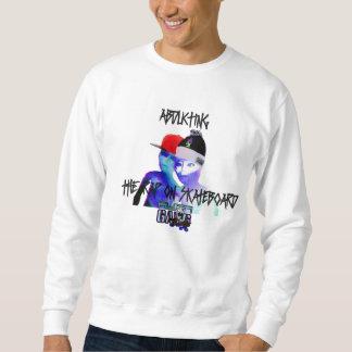 White Moletom WHOPS Alien Gang. Records Sweatshirt