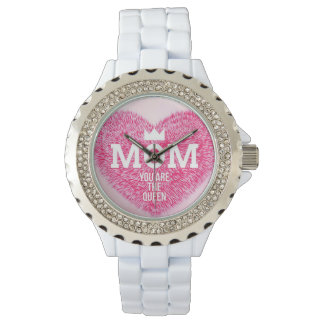 White mother queen watch
