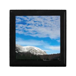 White Mountain Blue Sky Landscape Gift Box