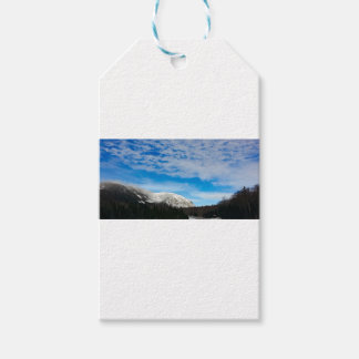 White Mountain Blue Sky Landscape Gift Tags