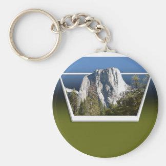 White Mountain Keychain