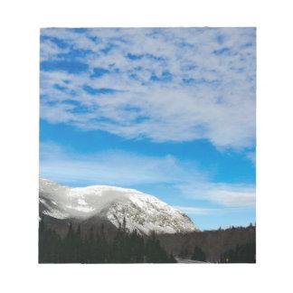 White Mountains Big Blue Sky Notepad