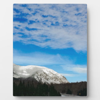 White Mountains Big Blue Sky Plaque