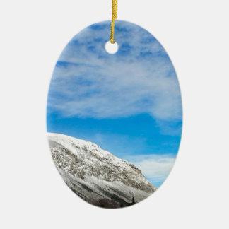 White Mountains New Hampshire Ceramic Ornament