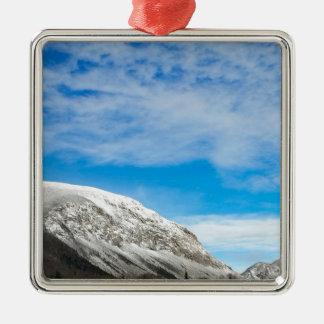 White Mountains New Hampshire Metal Ornament
