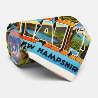 White Mountains New Hampshire NH Travel Souvenir Tie