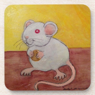 White Mouse or Rat Coasters