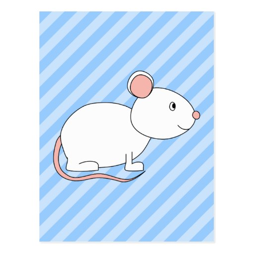 White Mouse. Postcards