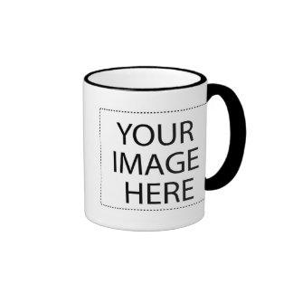 White mug black trim Two-Image Template 11oz