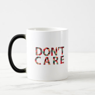 White mug - Don't care