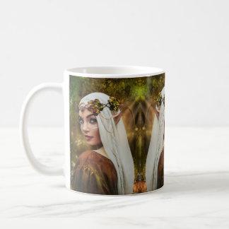 White Mug - Elf of autumn