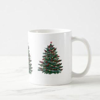 White Mug Happy Holidays New year