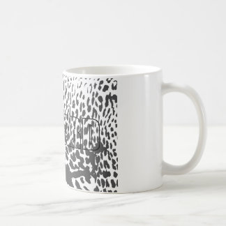 White Mug Leopard
