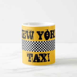 White Mug traditional Taxi