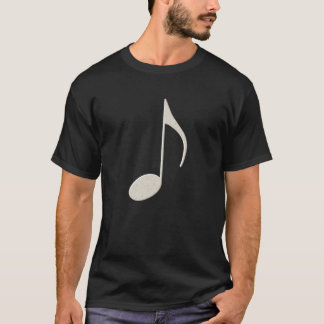 White Music Note T-Shirt