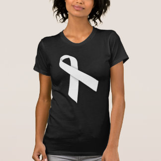 White National Day of Remembrance Ribbon T-Shirt