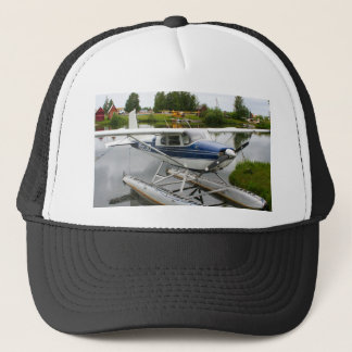 White & navy float plane, Alaska Trucker Hat