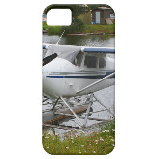 White, navy & grey float plane, Alaska Case For The iPhone 5
