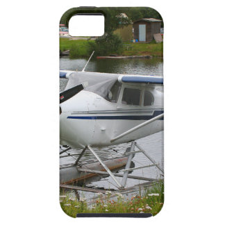 White, navy & grey float plane, Alaska iPhone 5 Case