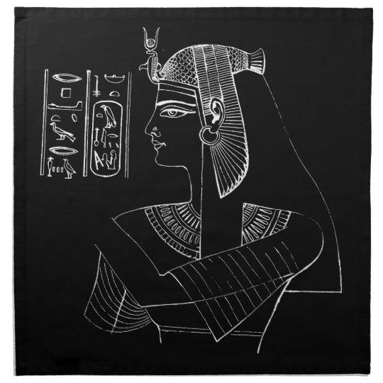 White Nefertari Napkins