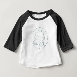 White North Pole AE Map Baby T-Shirt