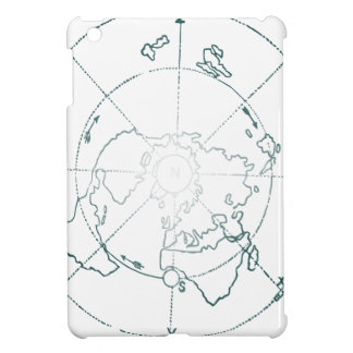 White North Pole AE Map Case For The iPad Mini