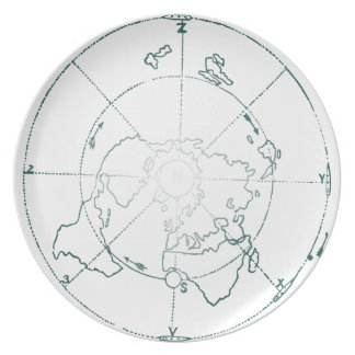 White North Pole AE Map Plate