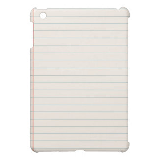 White Notepad iPad Cases