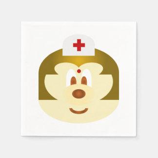 White Nurse 鮑 鮑 Paper Napkin