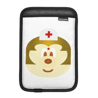 White Nurse 鲍 鲍 Ipad Mini  Rickshaw Sleeve