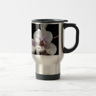 White on Black Travel Mug