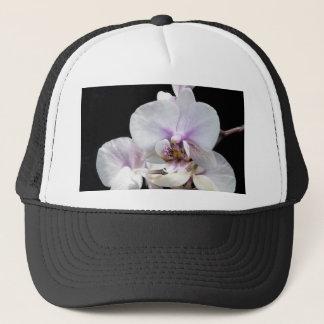 White on Black Trucker Hat