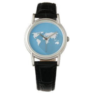 white on blue world watch