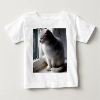 White on White Baby T-Shirt