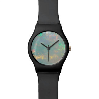 White Opal Dial Watch