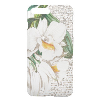 White Orchid Calligraphy iPhone 8 Plus/7 Plus Case