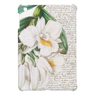 White Orchids Calligraphy Cover For The iPad Mini