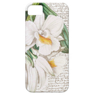 White Orchids Calligraphy iPhone 5 Cover