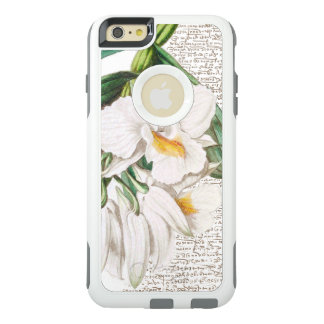 White Orchids Calligraphy OtterBox iPhone 6/6s Plus Case
