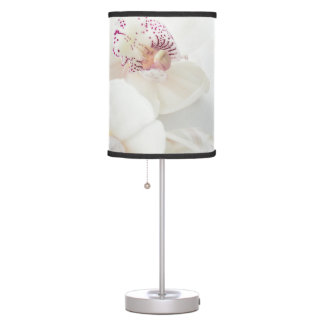 White Orchids Floral Lamp Shade