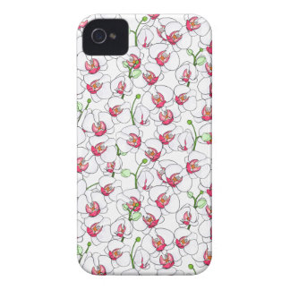 White orchids. iPhone 4 covers