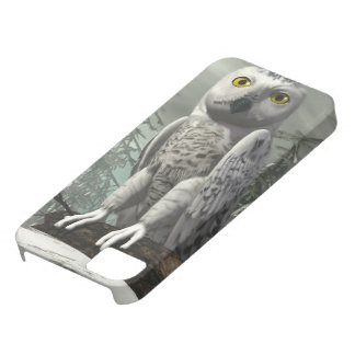 White owl - 3D render iPhone 5 Case