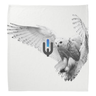 White Owl Bandana