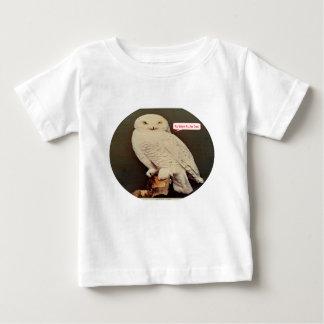 white owl drawing baby T-Shirt