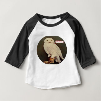white owl drawing baby T-Shirt