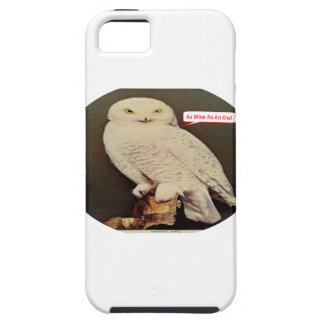 white owl drawing iPhone 5 cover