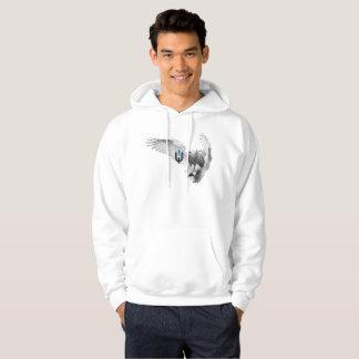 White Owl Hoodie